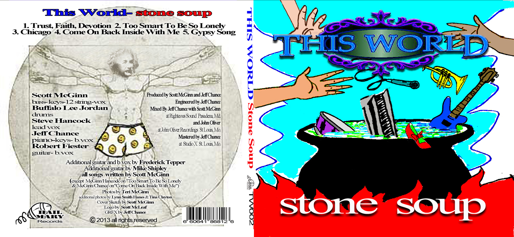 Stone soup front and rear cover